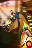 Het Paard van de carrousel Stock Afbeeldingen