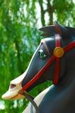 Het Paard van de carrousel Stock Foto