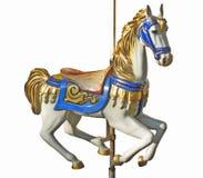 Het paard van de carrousel royalty-vrije stock foto