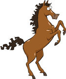 Het paard van het beeldverhaal Stock Fotografie
