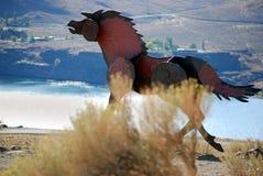 Het Paard van het ijzer Royalty-vrije Stock Afbeeldingen
