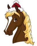 Het paard van Kerstmis vector illustratie