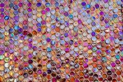 Het paarlemoer van de mozaïekmuur Royalty-vrije Stock Fotografie