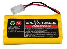 Het pak van de batterij. Geïsoleerdk stock afbeeldingen