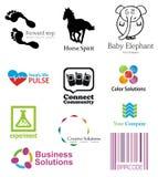 Het Pak van de Malplaatjes van Logotype stock fotografie