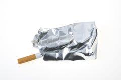 Het pak van de sigaret stock afbeelding