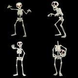 Het Pak van het skelet stock illustratie
