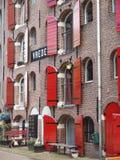 Het pakhuis van Amsterdam vrede Stock Foto's