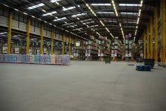 Het Pakhuis van de voedseldistributie Stock Foto's