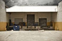 Het Pakhuis van Grunge Royalty-vrije Stock Afbeeldingen