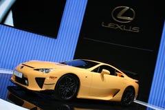 Het Pakket van de Show van de Motor van Genève 2011 â LFA Nurburgring Stock Afbeelding