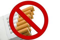Het pakket van de sigaret Stock Afbeeldingen
