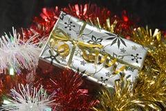 Het pakket van Kerstmis stock afbeeldingen