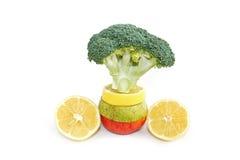 Het pakket van vitaminen Stock Foto