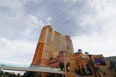 Het Palazzo-het luxehotel en casino nemen zijn toevlucht stock fotografie