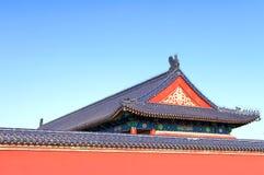 Het paleis in de tempel van hemelpark Stock Fotografie