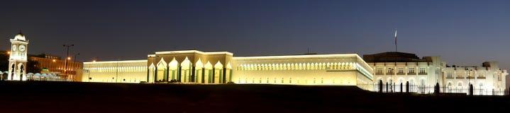 Het paleis Doha, Qatar van het emir Stock Afbeelding
