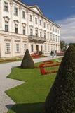 Het paleis en de tuinen van Mirabell (Salzburg, Oostenrijk) Stock Foto