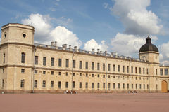Het paleis Gatchina royalty-vrije stock afbeeldingen