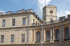 Het paleis Gatchina Stock Afbeeldingen