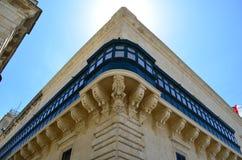 Het paleis Grandmaster in Valletta - Malta Stock Afbeelding