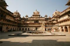 Het paleis India van Orchha Stock Afbeeldingen