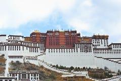Het Paleis Lhasa Tibet van Potala Stock Afbeeldingen