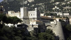 Het paleis Monaco van prinsen stock fotografie