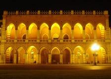 Het paleis Padua van Amulea van de loggia Royalty-vrije Stock Afbeeldingen