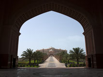 Het Paleis van Abu Dhabi Stock Fotografie
