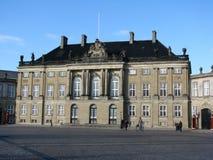 Het paleis van Amalienborg in Kopenhagen Stock Afbeelding
