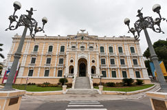 Het Paleis van Anchieta in Vitoria Royalty-vrije Stock Afbeeldingen