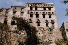 Het paleis van Arwa van de Koningin Stock Foto's