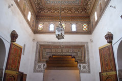 Het Paleis van Bahia in Marrakech Stock Foto