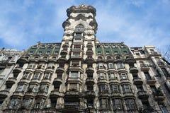 Het Paleis van Barolo in Buenos aires, Argentinië Stock Foto's