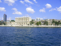 Het paleis van Beylerbeyi, Istambul, Turkije Stock Foto