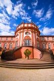 Het Paleis van Biebrich in Wiesbaden Stock Foto