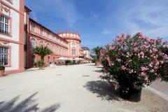 Het Paleis van Biebrich in Wiesbaden Royalty-vrije Stock Afbeelding