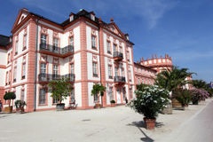 Het Paleis van Biebrich in Wiesbaden Royalty-vrije Stock Afbeeldingen