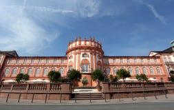 Het Paleis van Biebrich in Wiesbaden Stock Fotografie