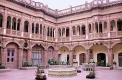 Het paleis van Bikaner stock afbeeldingen