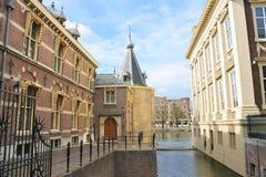 Het Paleis van Binnenhof in Den Haag Royalty-vrije Stock Foto