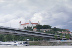 Het Paleis van Bratislava Stock Foto