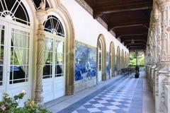 Het Paleis van Bussaco, Portugal Stock Foto's