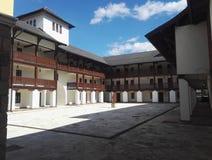Het Paleis van Byzantium in Andrictown, Bosnië-Herzegovina royalty-vrije stock foto
