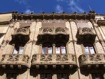 Het paleis van Caltagirone Royalty-vrije Stock Foto's