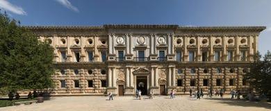 Het paleis van Carlos V Stock Foto