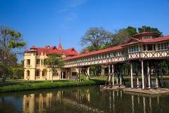Het Paleis van Chan van Sanam, Nakhon pathom, Thailand royalty-vrije stock afbeelding