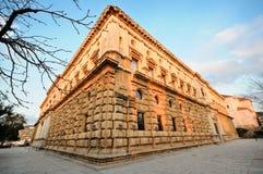 Het paleis van Charles V Stock Foto