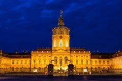 Het Paleis van Charlottenburg Royalty-vrije Stock Fotografie